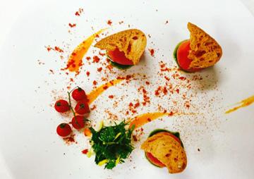 オーナーシェフ「大原氏」の料理は、星獲得経験のある実力派。