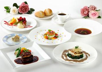 自慢のフランス料理、ロイヤルチャイニーズからセレクト